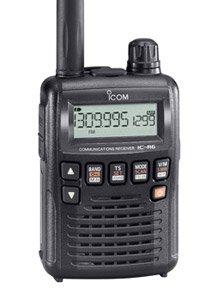 Icom Manual Radio (Icom R6 Sport Wide Band Handheld Communications Receiver, Requires 2 x AA Batteries, Black)