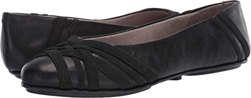Aerosoles Women's Saturn Shoe, Black Leather, 5.5 M US
