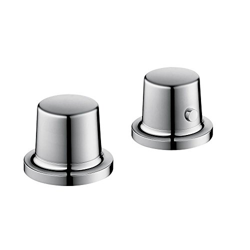 Axor 19432001 Bouroullec 2-Hole Thermostatic Roman Tub Set Trim, Chrome (Thermostatic Roman Tub Set)