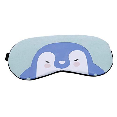 LZIYAN Cartoon Sleep Eye Mask Cute Animal Pattern Eye Mask Blindfold Eye Patch Sleeping Eyeshade Travel Shade Cover,Penguin by LZIYAN (Image #2)