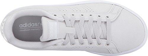 Adidas zapatos de mujer cloudfoam ventaja limpiar zapatillas gris