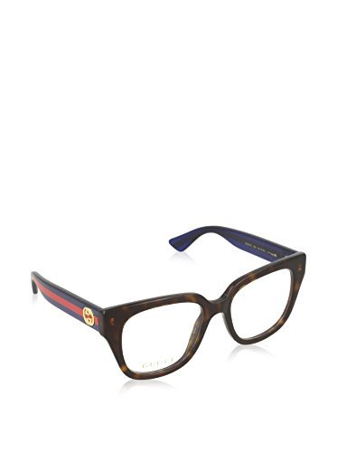 Optical frame Gucci Optyl Havana - Glitter Blue (GG0037O - Gucci Optyl