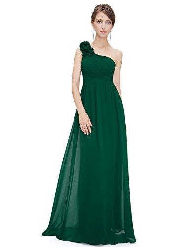 (Ever-Pretty Long Flower Evening Dress Women 10US Green)