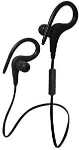 Black Wireless Bluetooth Headset Wonder Sports Earphone Headphone for iPhone Samsung