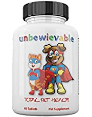 Unbewievable Multivitamin Chewable Treats for Dogs & Cats.