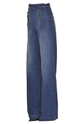 Franchi Jeans Ezgl026034 Elisabetta Mujer Azul Algodon dXSwwZxz