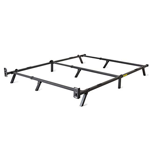 intelliBASE Adjustable Twin/Full/Queen Low Profile Metal Bed Frame