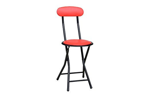 American Dream Home Goods Barstool 710-RD Folding Chair Red