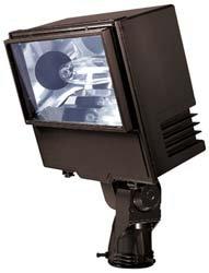 Lumark WP40 Warrior Floodlight, 400W, MP Multi-Tap Trunnion with Lamp, ()