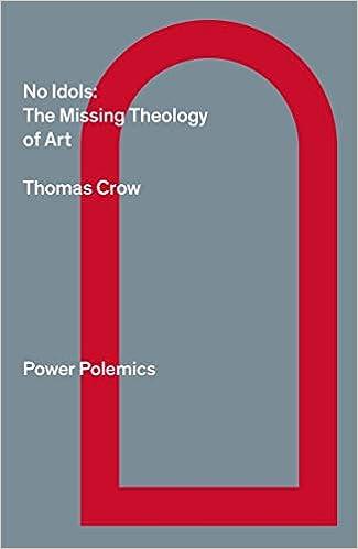 No Idols The Missing Theology of Art