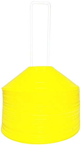 BlueDot Trading Sport Disc Cones (25 Pack), Yellow by Bluedot Trading