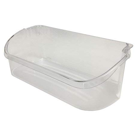 Price comparison product image 240356402 Clear Refrigerator Bin for Electrolux and Frigidaire,  Upper Slot Replacement Shelf,  Gallon Size by PartsBroz - Replaces Part Numbers AP2549958,  240430312,  240356416,  240356407,  and more