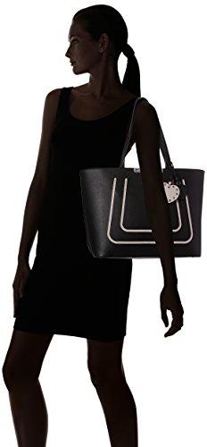 GUESS Hwvo6693230 - Bolsos de mano Mujer Negro (Black Multi)