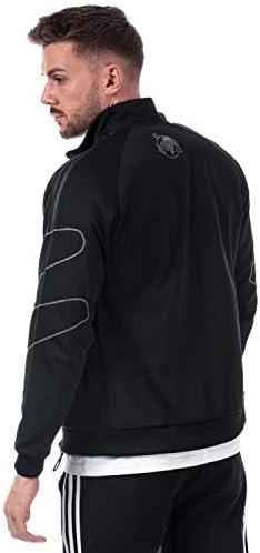 adidas Originals Mens Mens Stormzy SPRT Track Top in Black