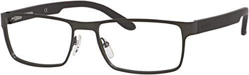 Carrera 6656 Eyeglass Frames CA6656-09T6-5417 - Dark Ruthenium / Matte Black Frame, Lens Diameter (Carrera Marke)