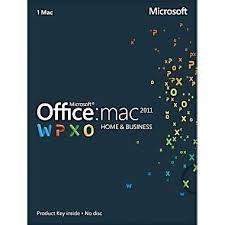 100% Genuine Microsoft Office 2011 Mac Home and Business Key