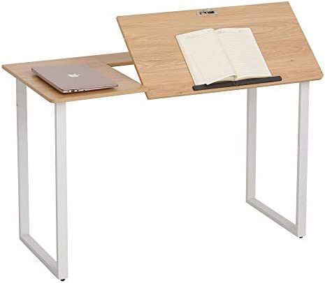 HOMCOM Writing Office Desk Workstation