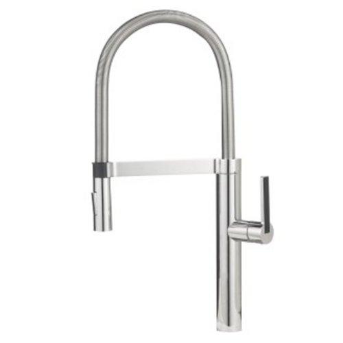 Chrome Kitchen Blanco - Blanco 441405 1.8 GPM Culina Semi-Pro Faucet, Chrome