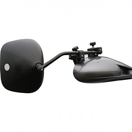 Clip Towing Mirrors On - Dometic DM-2912 Milenco Grand Aero3 Towing Mirror - Twin Pack
