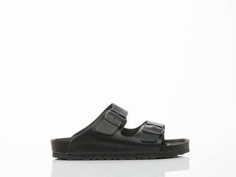 Birkenstock Womens Monterey Sandal Exquisite Black Leather Size 37 N EU (6-6.5 N US Women)
