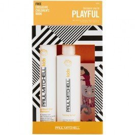 Paul Mitchell Because You're Playful Duo-Baby Don't Cry Shampoo - 10.14 oz/Taming Spray 8.5 oz