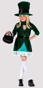[Lucky Leprechaun Costume - Medium] (Womens Lucky Leprechaun Costume)