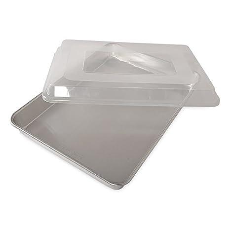 Amazon.com: Nordic Ware - Bandeja de aluminio para tartas ...