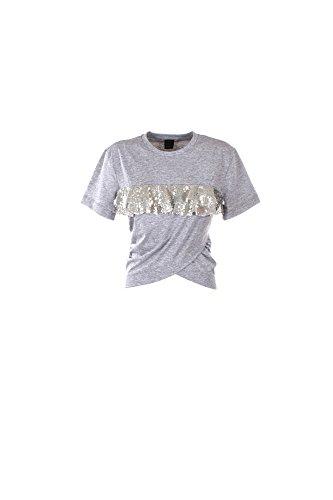 T-shirt Donna Pinko L Grigio Setter Primavera Estate 2017