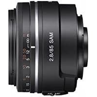 Sony Alpha SAL85F28 85mm f/2.8 A-mount Standard & Medium Telephoto Fixed Lens (Black)