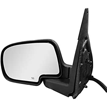02-06 Avalanche Parts Link #: GM1320208 02-06 Cadillac Escalade EXT 07 Classic Driver Side Chrome Cover Manually Operated Side View Mirror for 99-06 Chevy /& GMC Trucks