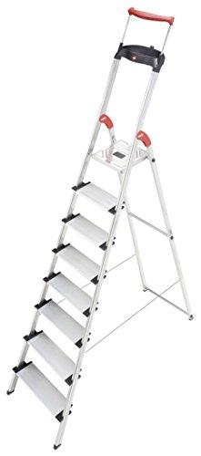 Hailo XXR  mit  EasyClix, breiten Stufen und Ausziehbarem Haltebügel  (verschiedene Größen)