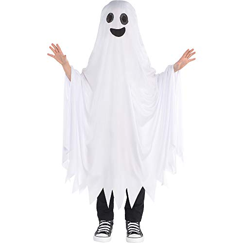 Ghost Costumes For Toddlers (AMSCAN Boo Ghost Halloween Costume for Kids, One)