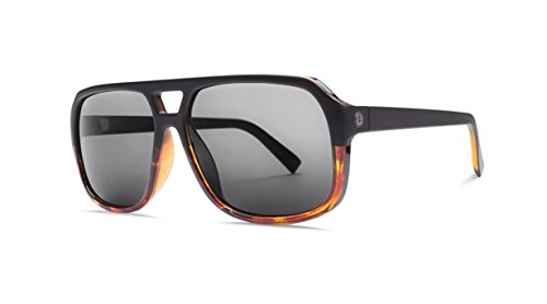 Electric Dude Sunglasses Darkside Tortoise Black with Ohm Grey - Dude Sunglasses