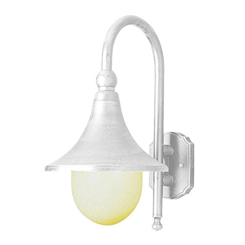 Transglobe Lighting 4775 WH Outdoor Wall Light with Opal Polycarbonate Shade, White Finished