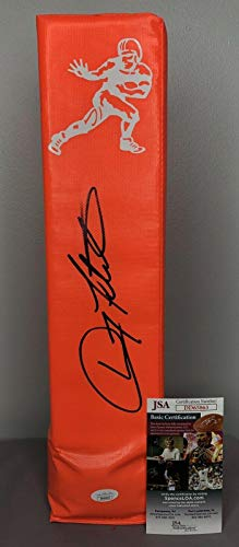 Doug Flutie SIGNED Heisman Trophy Football Pylon w/COA ~ Boston College - JSA Certified - College Autographed Miscellaneous Items (Flutie Football Signed Doug)