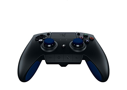 Razer Raiju - Next-Gen Premium Gaming Controller for PlayStation 4 - Fully-Programmable Hyper-Responsive Buttons, Blue by Razer (Image #1)