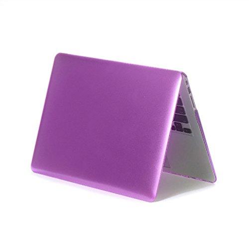 YiJee Funda Rígida para Macbook Pro Retina 11.6 -15.4 Pulgadas Protector de Plástico Protector Shell para el Portátil Mac Book 15.4re Inch Púrpura
