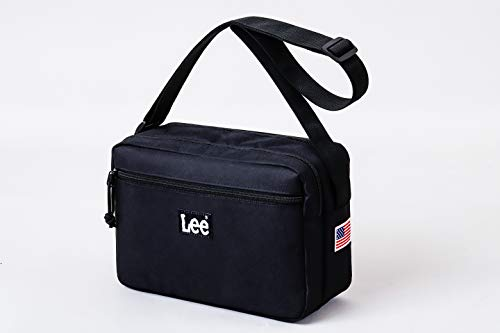 Lee SHOULDER BAG BOOK BLACK 画像 A