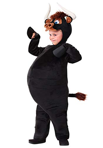 Bull Costume For Kids (Toddler Ferdinand Bull Costume 4T)
