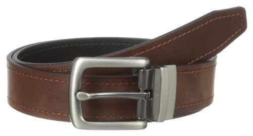 - Fossil Men's Parker Reversible Belt, Brown, 32