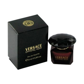 VERSACE CRYSTAL NOIR by Gianni Versace EDT .17 OZ MINI for WOMEN - Edp Spray Miniature