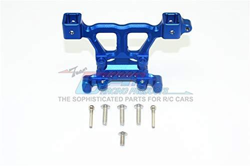 GPM Traxxas Revo, Revo 3.3 Upgrade Parts Aluminum Rear Body Posts Mount With Screws - 1Pc Set Blue