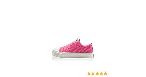 People Footwear Toddler Girls Phillips Knit Sneakers Playground Pink White 11 Ne