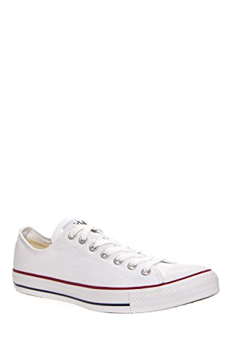 Converse Chuck Taylor All Star Low Sneakers Optical White Mens Mens (Lace Up Lined Sneakers)