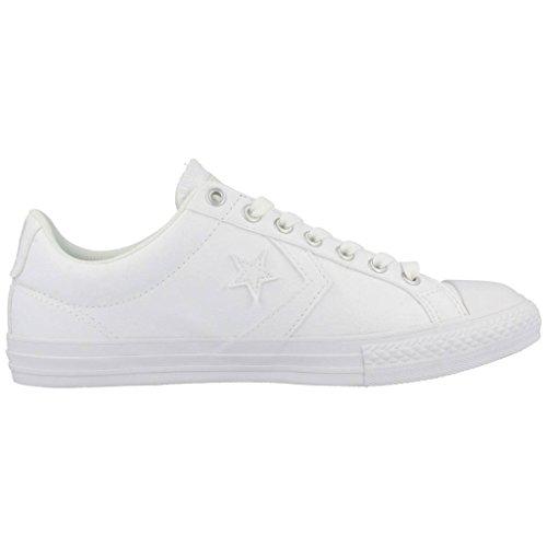 Calzado deportivo para mujer, color Blanco , marca CONVERSE, modelo Calzado Deportivo Para Mujer CONVERSE STAS PLAYER EV Blanco