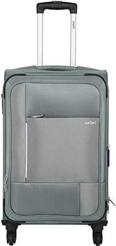 SAFARI Pixel 4W 55 Expandable Cabin Luggage Grey