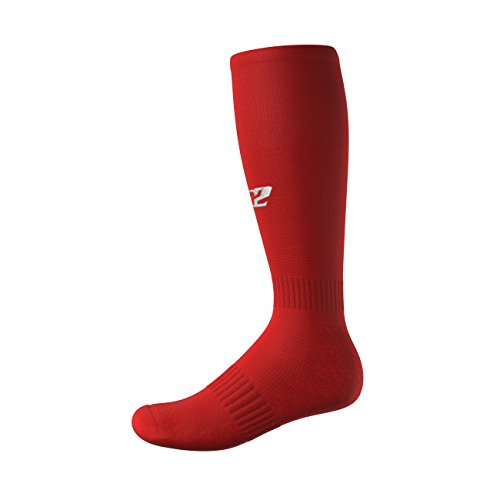 3N2 4200-35-M Full Length Socks - Red, Medium