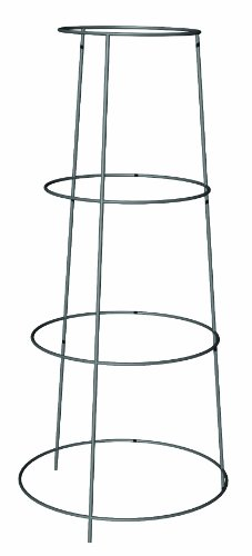Panacea Products 89768 Galvanized Heavy Duty Inverted Tomato Cage and Plant Support, 36-Inch by Panacea Products