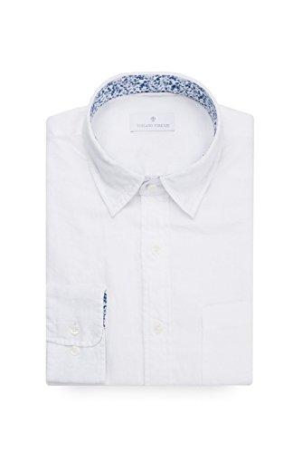 TOSCANO FIRENZE Minimalist Lightweight Linen LS Shirt - Linen Shirt Toscano