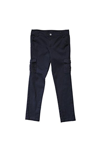 French Toast Ankle Length Skinny Cargo Pant Navy Size 16